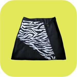 falda de cebra
